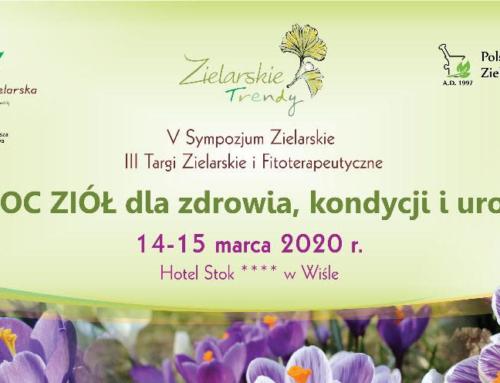 Zaproszenie na Sympozjum Zielarskie Trendy 14-15.03.2020 w Wiśle